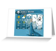 Let It Freeze Greeting Card