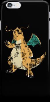 Dragonite Splatter by Colossal