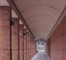 Arched Hallway Sticker