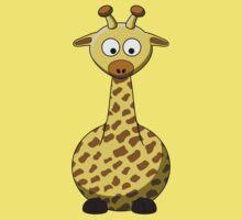 Cartoon Giraffe by mdkgraphics