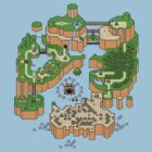 Super mario world map by erndub