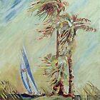 Windy Palms by Jim Phillips