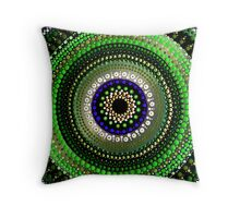 Emerald Jewel Throw Pillow