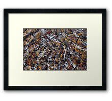 Number 2 Abstract Framed Print