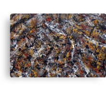 Number 2 Abstract Canvas Print