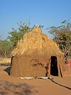 Himba home, Namibia, Africa by Margaret  Hyde