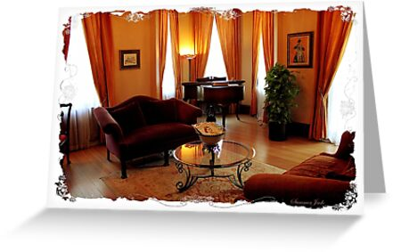 Victorian Parlor with a Grand Piano by SummerJade