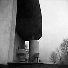 Chapel of Notre Dame du Haut, Ronchamp, France by Maggie Hegarty