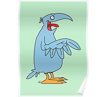 Derp is the bird. Poster