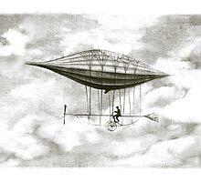pasenger airship by art-koncept