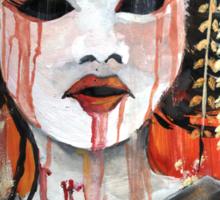 Geisha in Autumn Rain: The Innocent Concubine Sticker