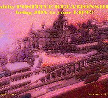 HONOURING RELATIONSHIPS = HAPPY HEARTS by Lorraine Wright