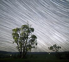 Star Trails - Strathewen by Russell Knoblock