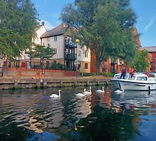 Norwich River Cruise by SaraHardman