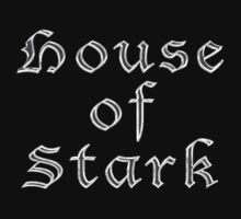 House of Stark T-shirt by deanworld