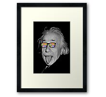 color make me happy make me smart Framed Print