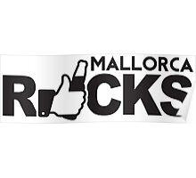 Mallorca Rocks Poster