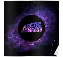 Arctic Monkeys in Space Poster