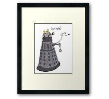 Domination Dalek  Framed Print