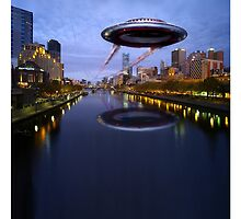 UFO Melbourne by Tom Godfrey