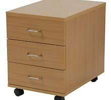 Three Drawer Pedestal by atlantisofficee