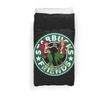 Starbucks Friends Duvet Cover