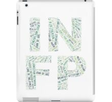 INFP Word Cloud iPad Case/Skin