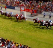 tiny horse race by tinncity