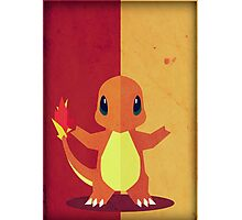 Pokemon - Charmander #004 Photographic Print