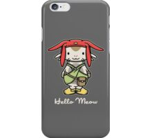 Hello Meow iPhone Case/Skin
