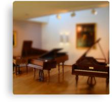 tiny pianos Canvas Print