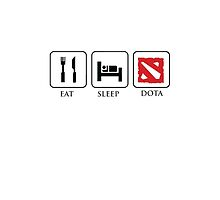 Eat,Sleep,Dota by Crytiv PH