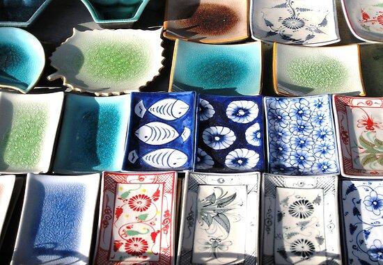 Ceramic Tableware © by Ethna Gillespie