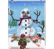 Little Timothys LAST Snowman iPad Case/Skin