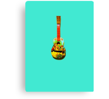Toy guitar Canvas Print