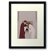 Doctor Who - Family Reunion (Minimalist) Framed Print