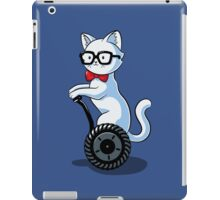 White and Nerdy iPad Case/Skin
