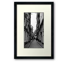 tilting Framed Print