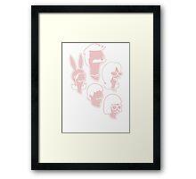Belcher Family Framed Print
