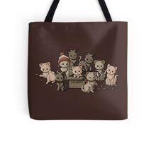 We Aim to Misbehave Tote Bag