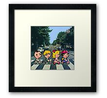 Ness' Road Framed Print