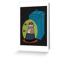 Daleks in Disguise - Eleventh Doctor Greeting Card