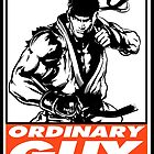 Ryu Ordinary Guy Obey Design by SquallAndSeifer