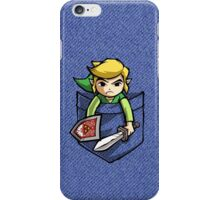 Pocket Link Legend of Zelda T-shirt iPhone Case/Skin