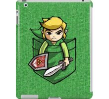 Pocket Link Legend of Zelda T-shirt iPad Case/Skin