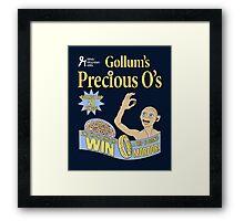 Gollum's Precious O's Framed Print