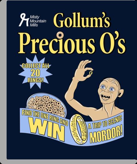 Gollum's Precious O's by Stephanie Jayne Whitcomb