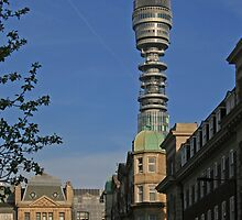The BT Tower by RedHillDigital
