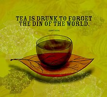 What my #Tea says to me - October 4, 2012 by catsinthebag