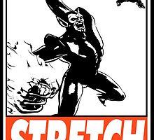 Super-Skrull Stretch Obey Design by SquallAndSeifer